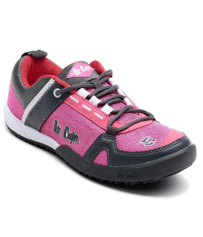 5c24f1ff9 Lee Cooper Pink Sport Shoes Price in India- Buy Lee Cooper Pink ...