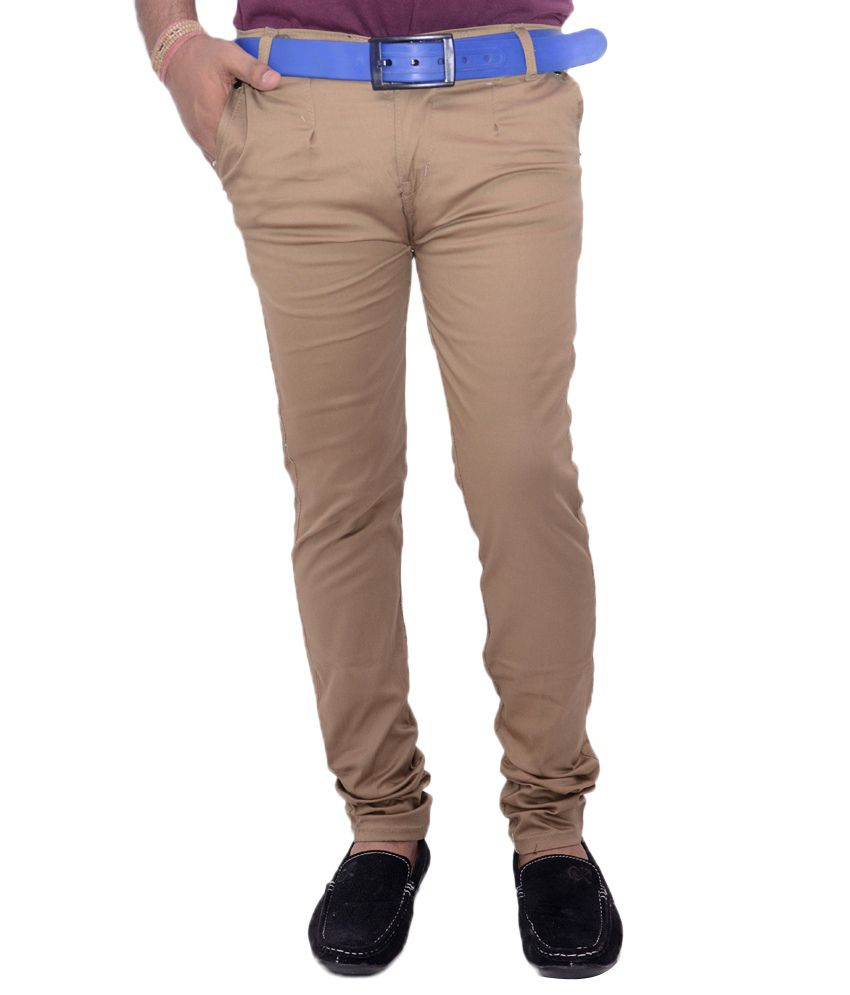VAM Jeans Beige Cotton Chinos