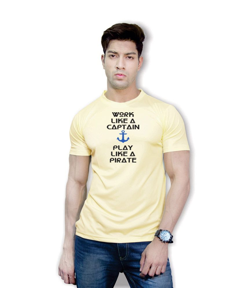 Effit Life Game Yellow Dri-Fit T-Shirt