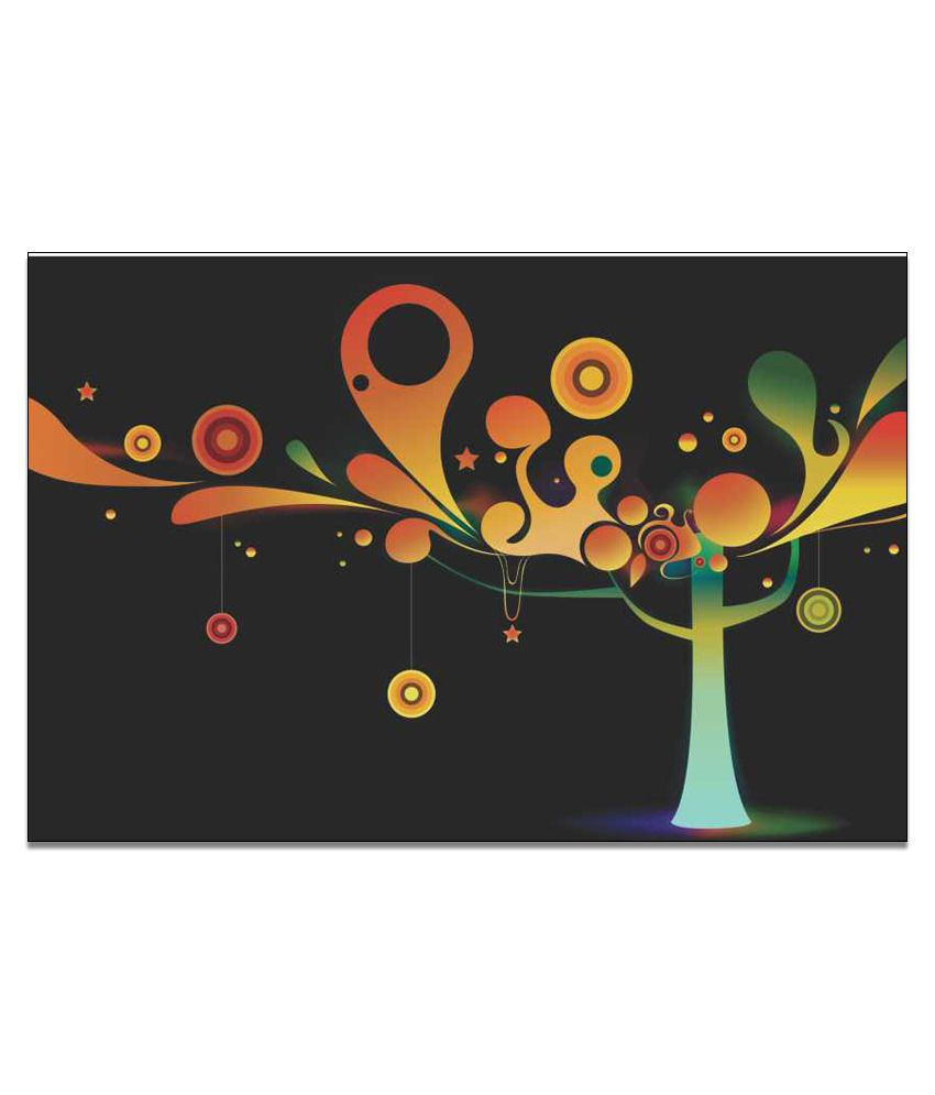 Finearts Abstract Tree Canvas Wall Painting