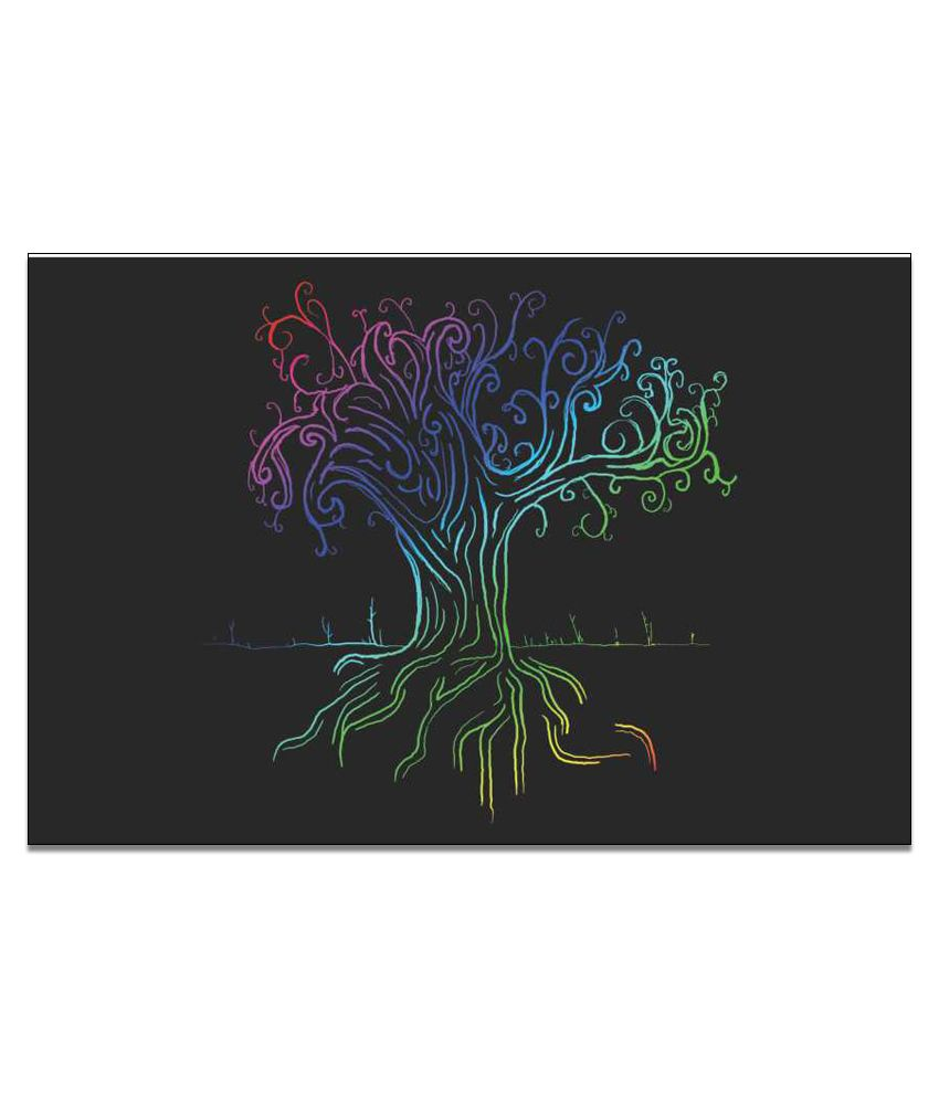 Finearts Tree Art Canvas Wall Painting