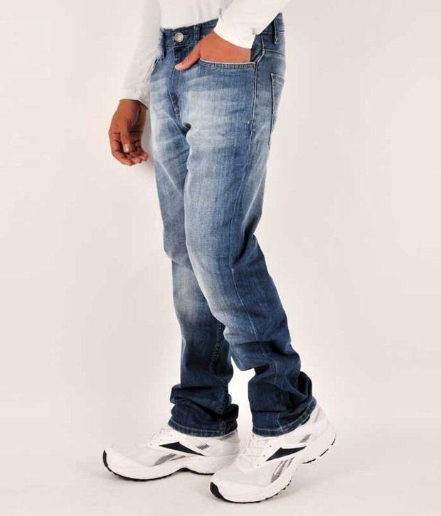 Lp Young Men Jeans With Lycra Denim Slim Fit