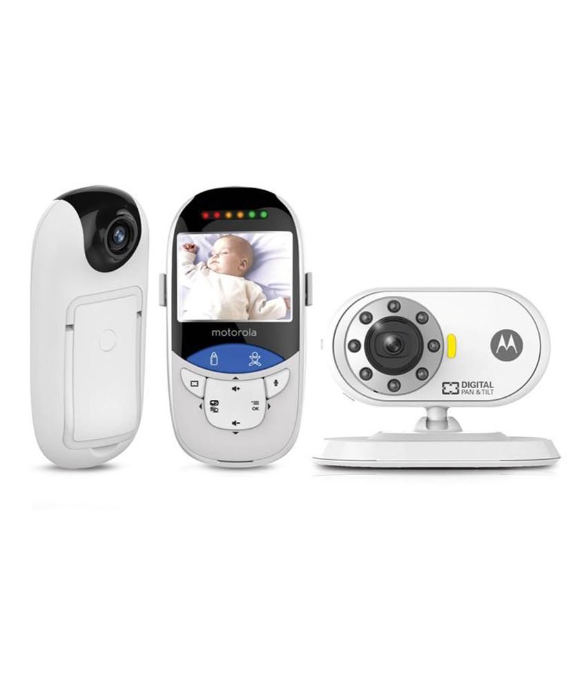 motorola digital video baby monitor with integrated touchless thermometer buy motorola digital. Black Bedroom Furniture Sets. Home Design Ideas
