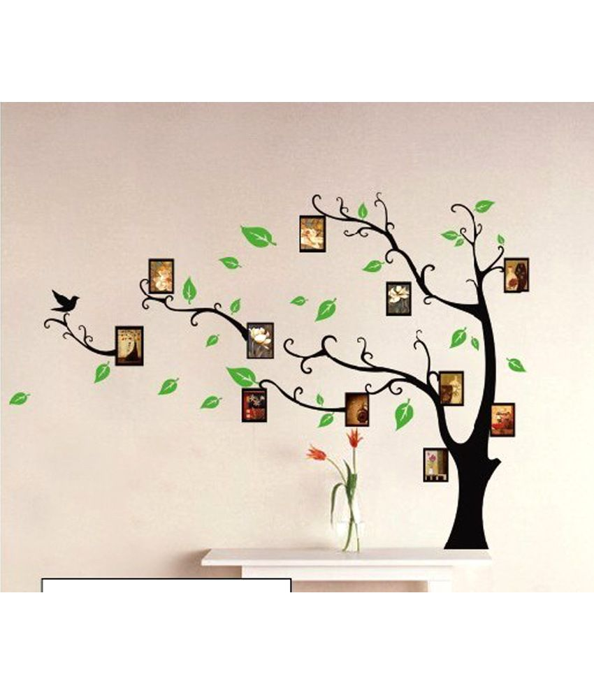 SYGA Printed PVC Vinyl Black Wall Stickers Buy SYGA Printed PVC - Wall decals india