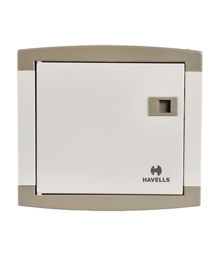 Havells 4 Way SP&N QVE Series Utility Distribution Board
