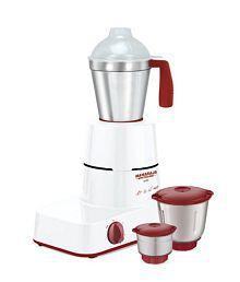 Maharaja Whiteline Solo Happiness 500-Watt Mixer Grinder (Red and White)