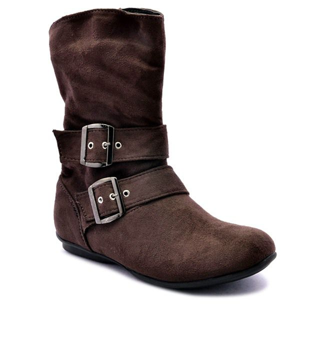 Bruno Manetti Brown Flat Boots