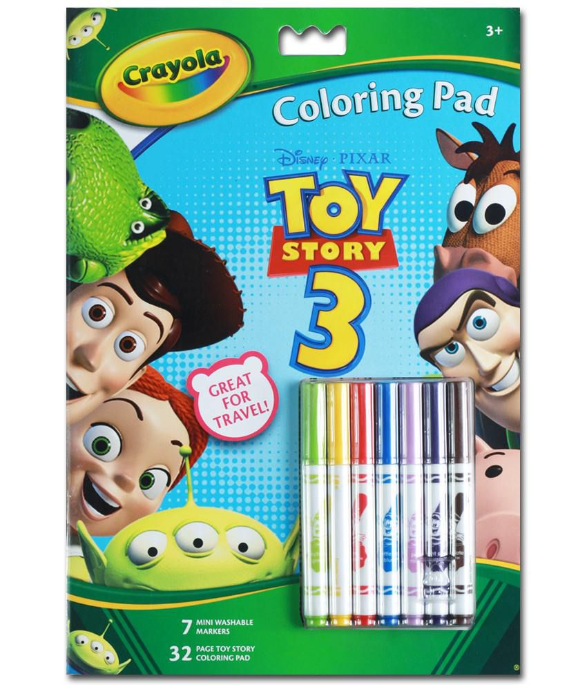 Crayola Mini Coloring Pages Toy Story | Coloring Pages