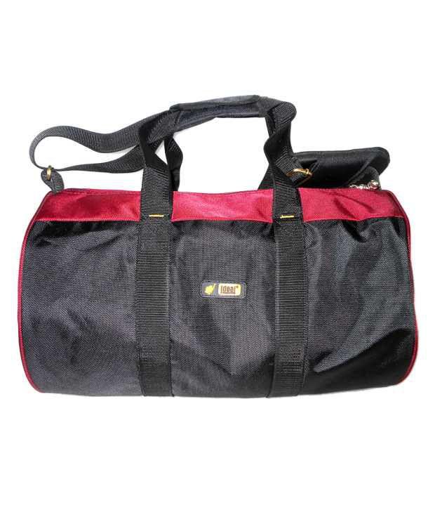 ea391013d6f6 Ideal DB-99 Red   Black Duffle Bag - Buy Ideal DB-99 Red   Black Duffle Bag  Online at Low Price - Snapdeal