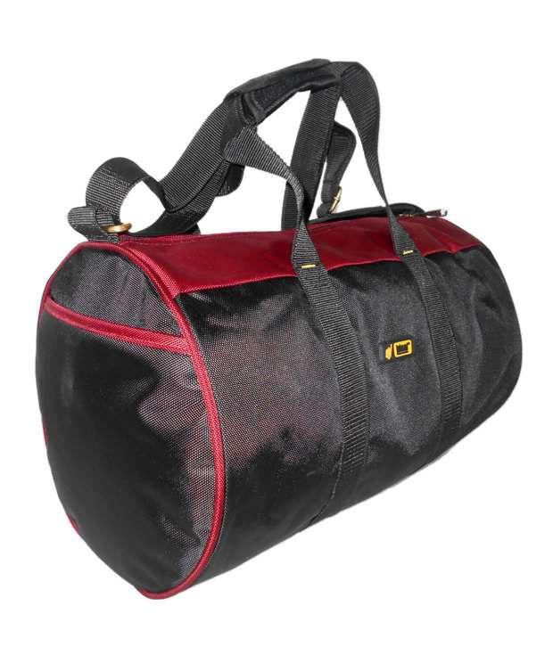 4e5a6d52ab5b Ideal DB-99 Red   Black Duffle Bag - Buy Ideal DB-99 Red   Black ...