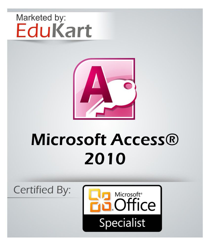 Microsoft Access Microsoft Office Certification By Edukart Buy