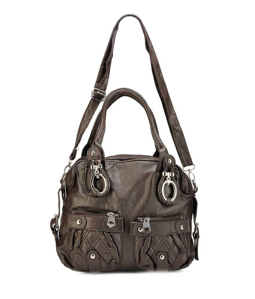 Bags Craze Bc-onlb-167 Brown Shoulder Bag
