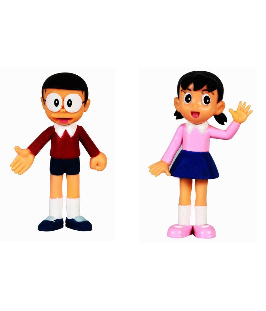 Nobita And Shizuka 2 Action Figurines Toy