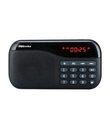 Portronics Plug Speaker - Black