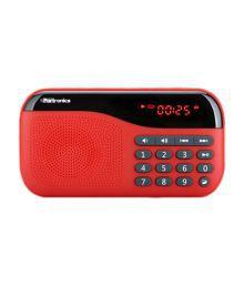 Portronics Plug Speaker - Red