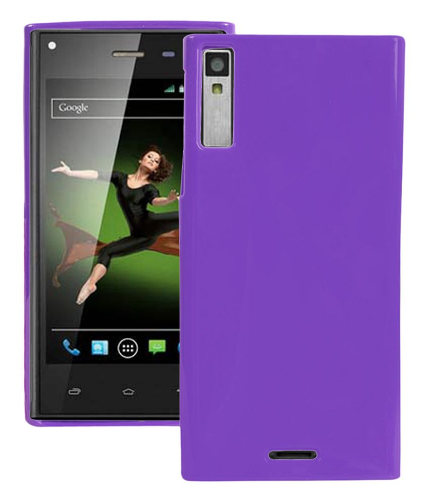 huge selection of 752d9 82787 Axes Back Cover Cases For Xolo Q600s -purple