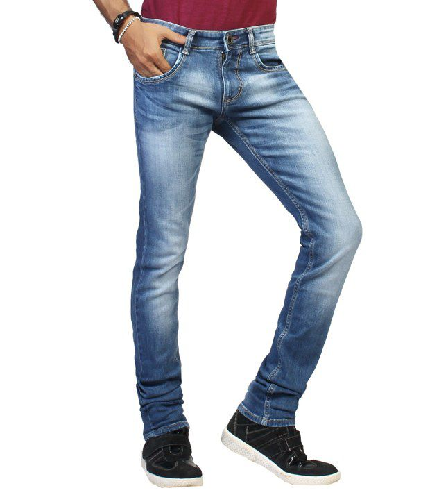 Louppee Blue Slim Jeans