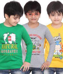 Dongli Brave Boys T-shirt 3 Pcs Combo