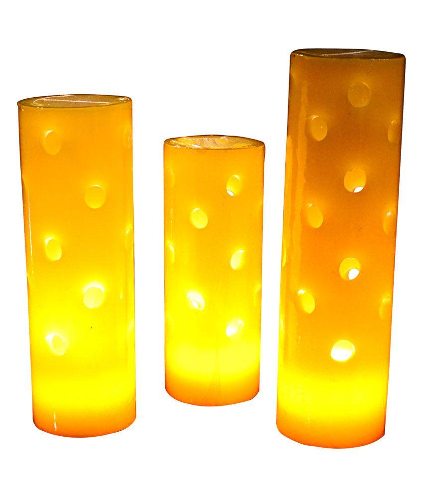 savitur orange led candles buy savitur orange led candles at best price in india on snapdeal. Black Bedroom Furniture Sets. Home Design Ideas