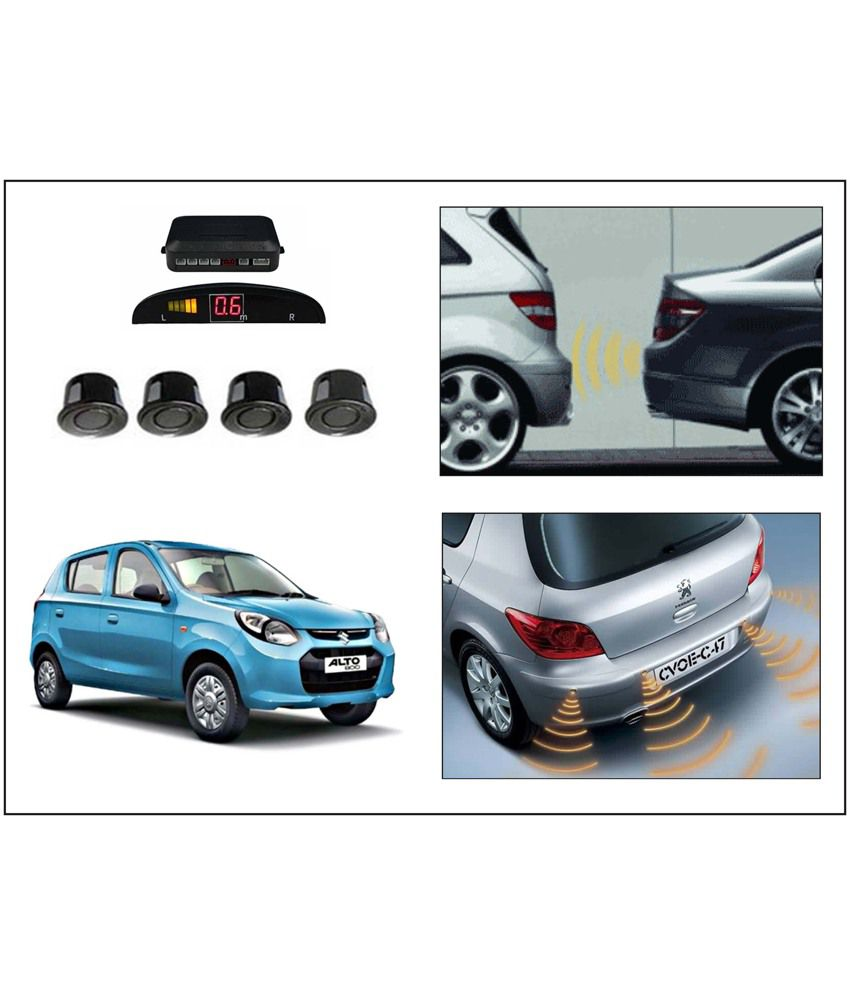 Flomaster- Premium Reverse Car Parking Sensor-maruti Alto-800(black)