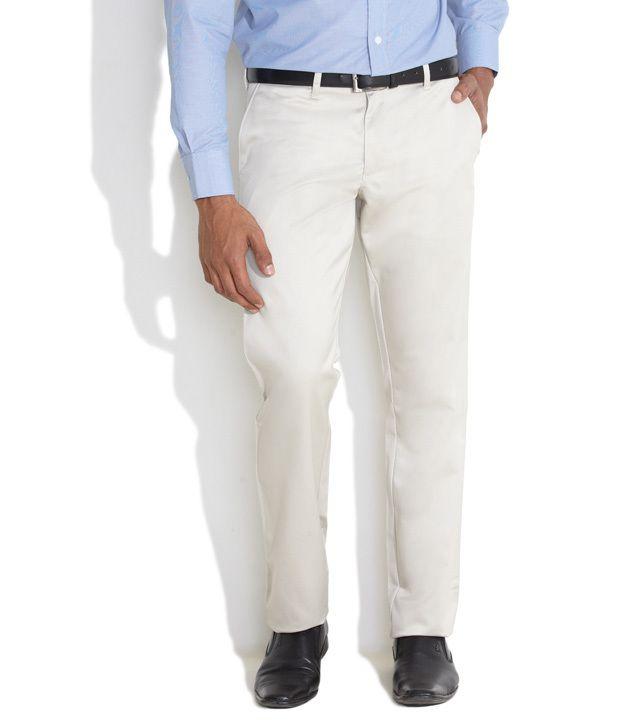 Indigo Nation White Slim Formals
