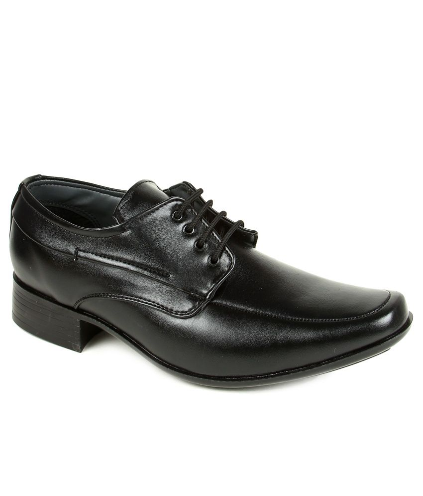 Liberty Fortune Black Formal Shoes