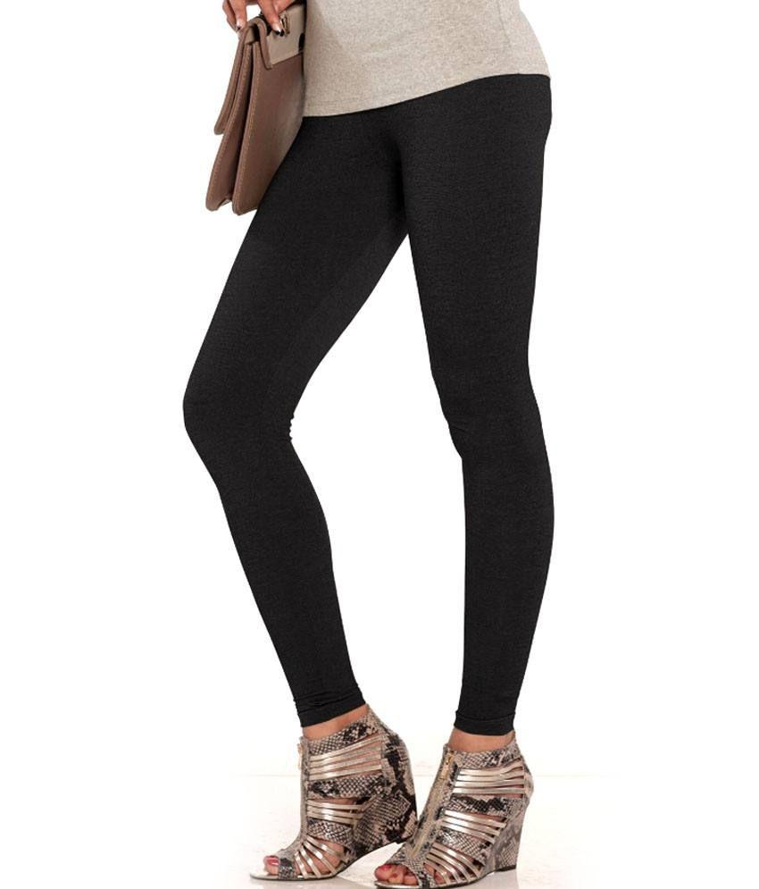 d2ff3b5c22 Buy Lux Lyra Black Denim (Denim)Legging (Jegging look) Online at ...