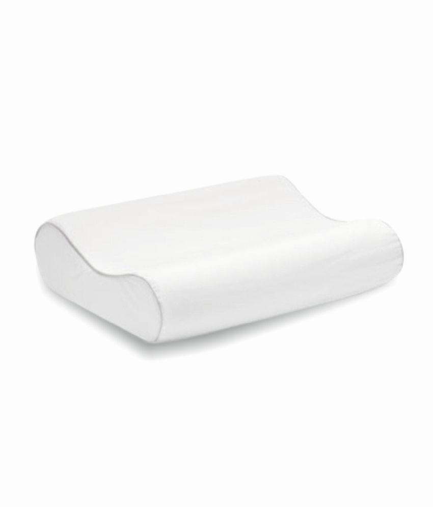 coirfit biolife visco promemory foam contour pillow