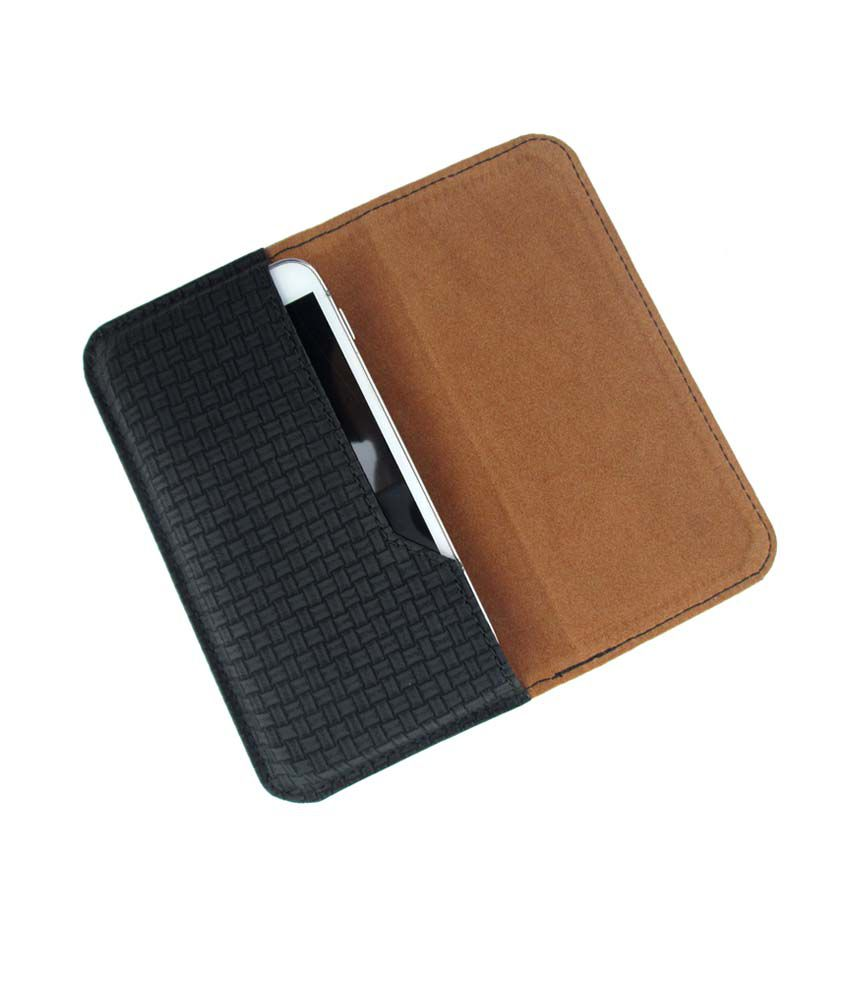 Ikitpit Pu Leather Flip Pouch Case Cover For Alcatel Idol Ultra