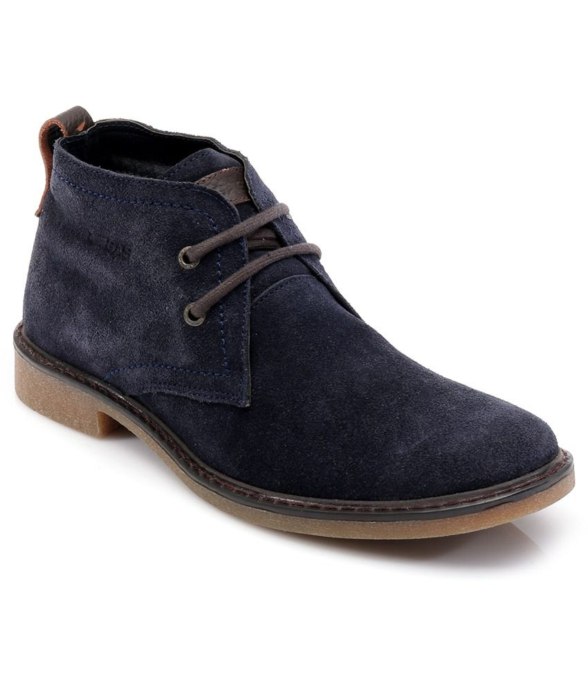Gas Navy Boot