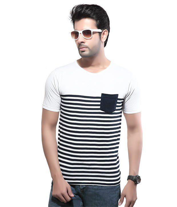 Cometodo White Cotton T-Shirt