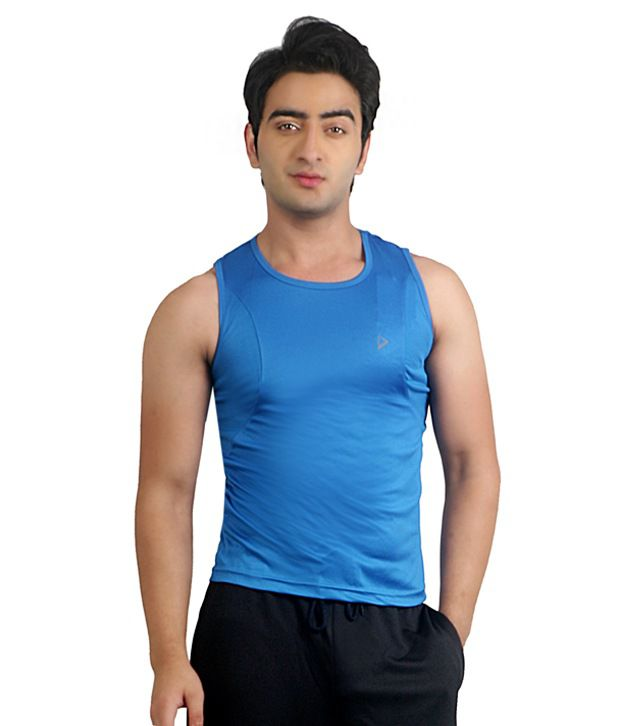Nitrite Blue Polyester  T-Shirt