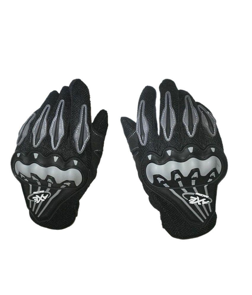 Driving gloves online shopping india - Upbeat Axe Racing Biker Glove