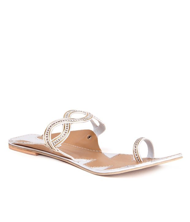 Anand Archies Silver Flats