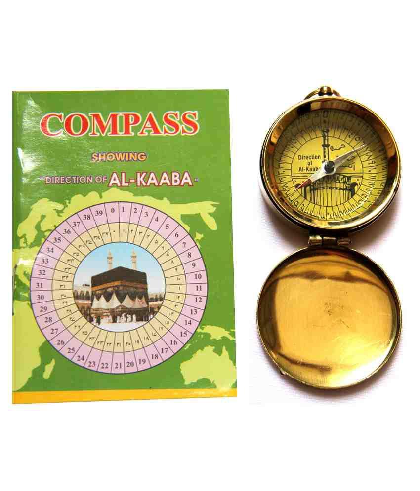 Artshai Qibla Direction Compass For Finding Islamic Prayer Direction