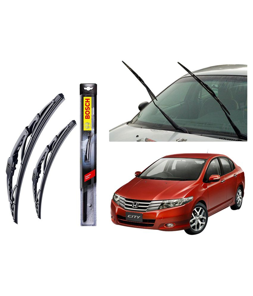 How do you determine the wiper blade size for a Honda Civic?