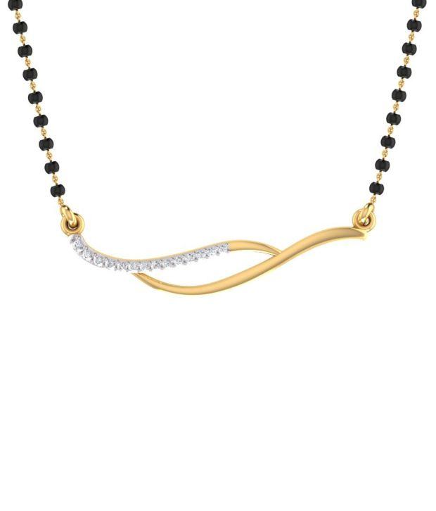 Mani Jewel 14Kt  Gold Perfect Tanmaniya Pendant