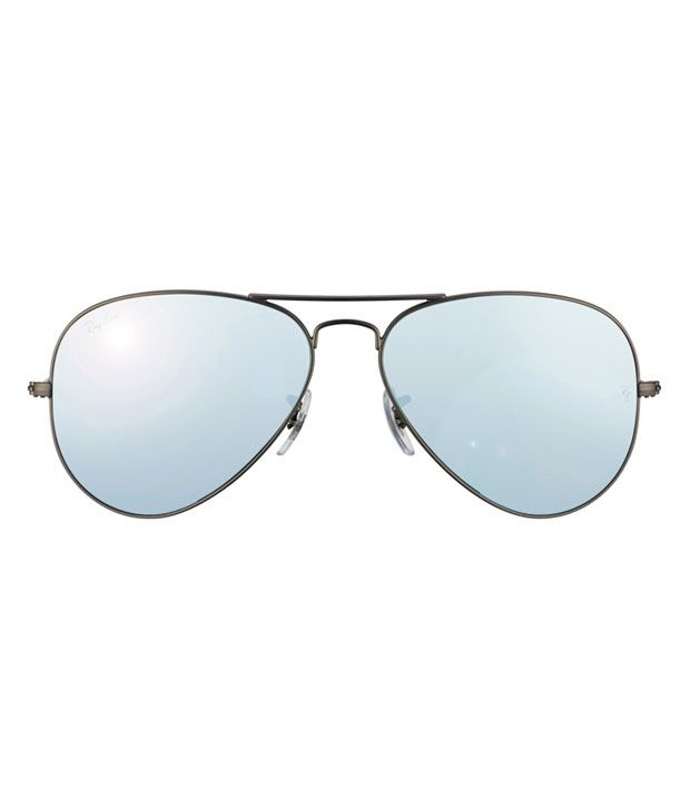 ray ban 3025 58 14  Ray-Ban Silver Aviator Sunglasses (RB3025 029/30 58-14) - Buy Ray ...