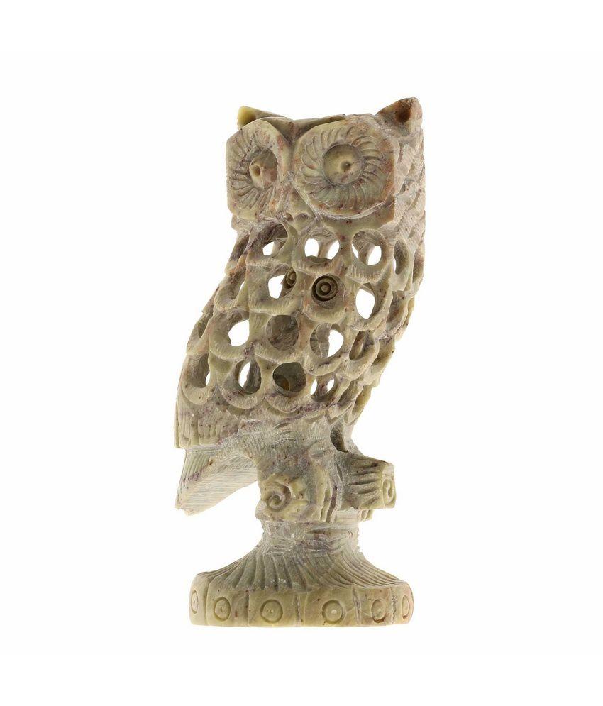 Shalinindia Owl Gifts Stoneware Jaalis Home Decor Soap Stone India