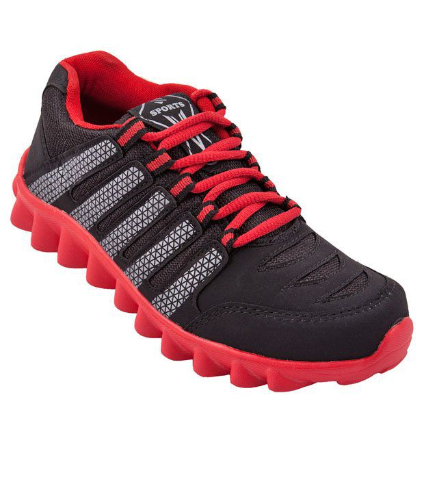 Zovi Black Sport Shoes