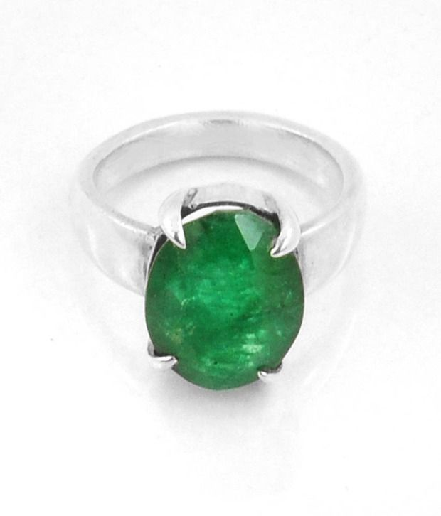 barish gems astrology approved 6 51ct panna emerald pachu
