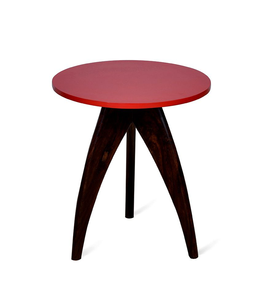 Cadero Side Table Red