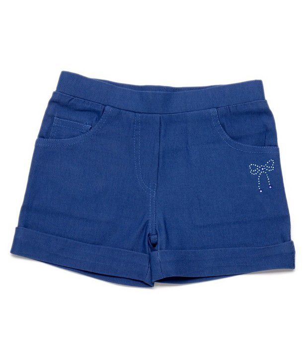 Ever Wear Imported Lam Lam Lycra Royal Blue Color Shorts