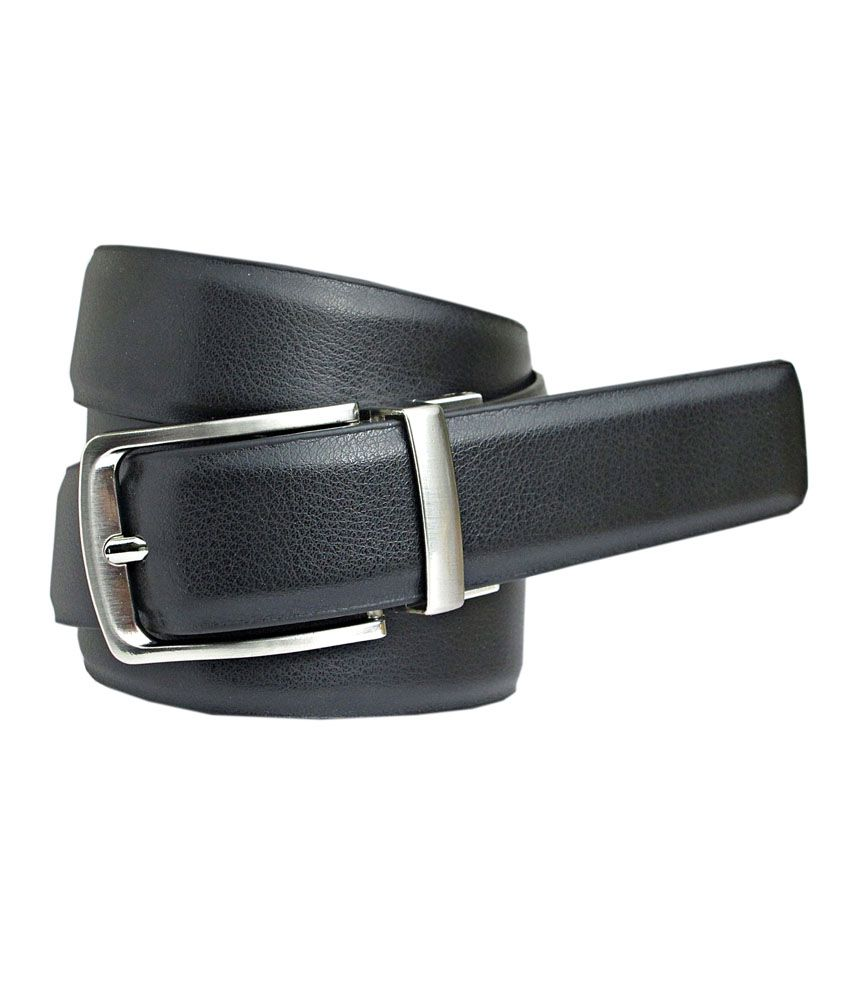 Abhinav's Reversible Black & Brown Italian Leather Belt