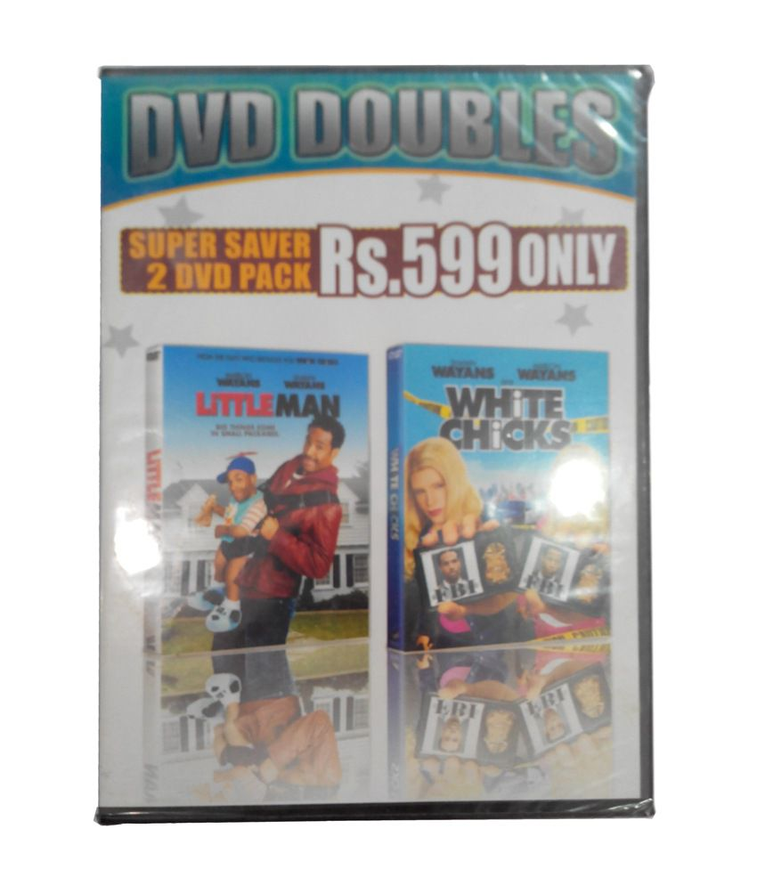 Sony Little Man Combo White Chicks Hollywood Movies Dvd: Buy Online