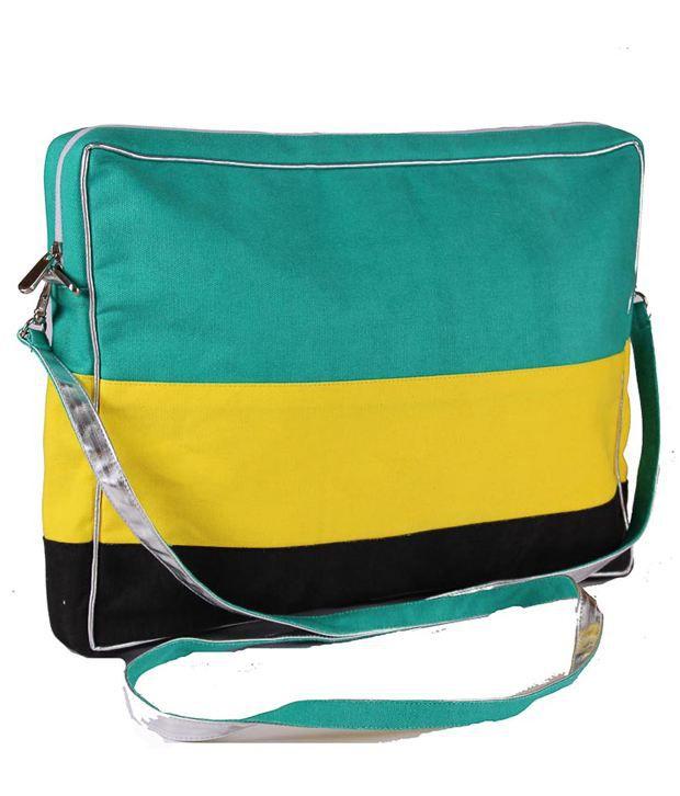 Harp Green Laptop Bag