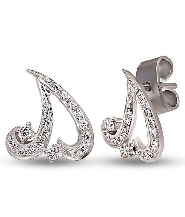 Shashvat Jewels 9kt Gold Stud Earrings