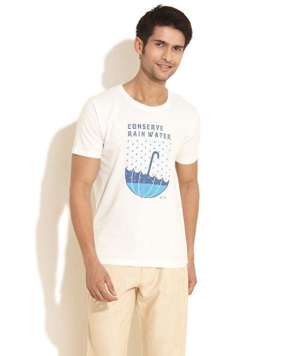 Urban Yoga White Cotton T Shirt Buy Urban Yoga White Cotton T Shirt Online At Low Price Snapdeal Com