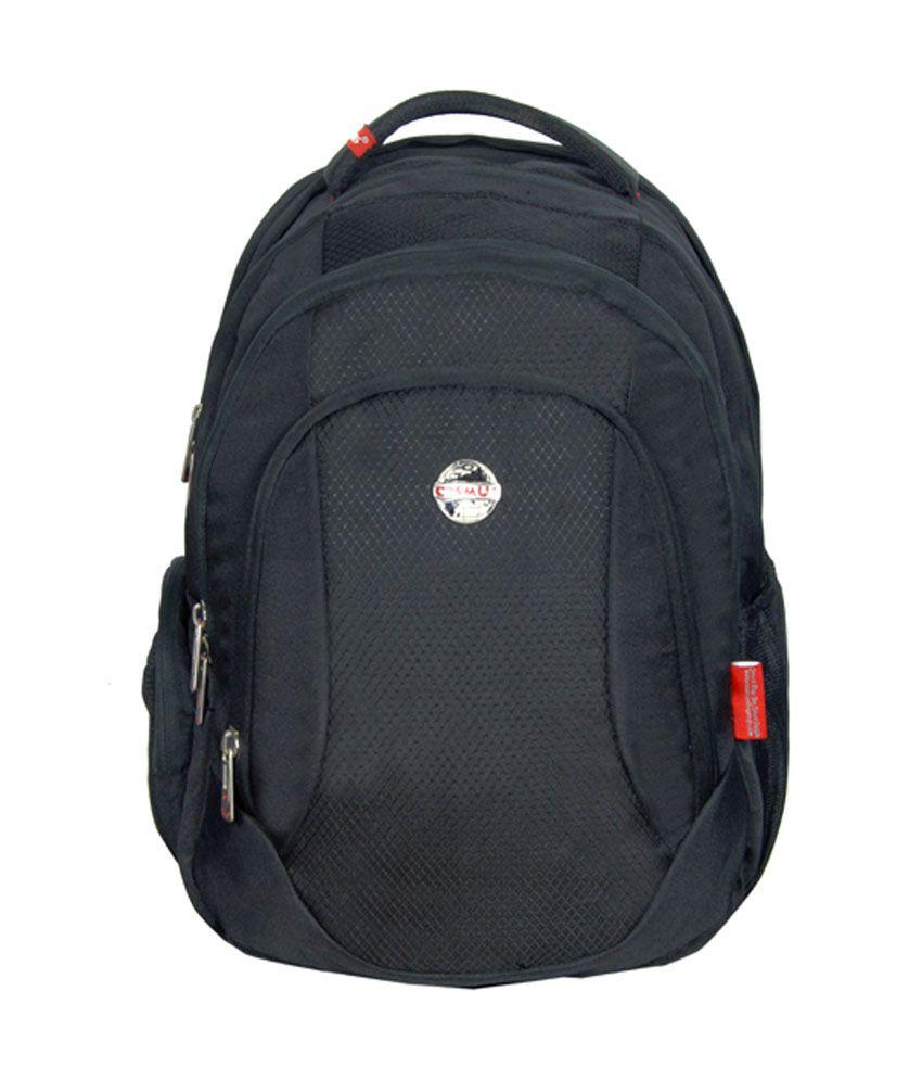 Cosmus Entreprises Black Pluto Laptop Bags