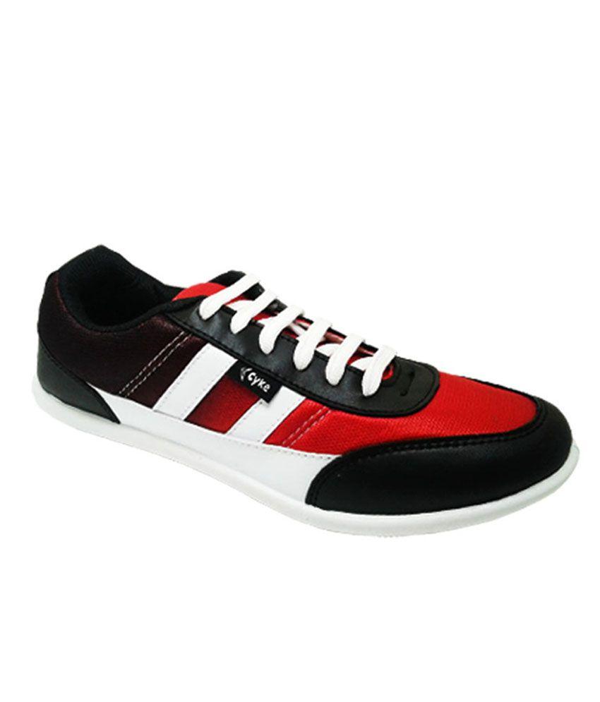 Cyke Red Sneaker Shoes
